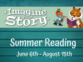 Join Summer Reading with the Charleston County Public Library
