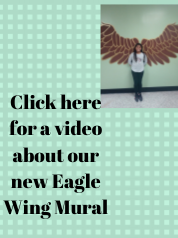 Click here to find out about our new eagle wing mural