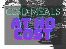 CCSD Meals at no cost