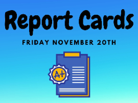 Report cards distributed friday