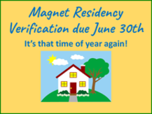 Magnet Residency Requirement Documents
