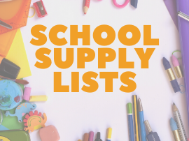 school supply lists found here