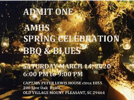 AMHS Gala Early Bird Tickets